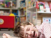 Истерики у капризного ребенка